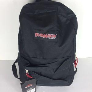"""Trailmaker Black Travel Backpack 14x16"""""""